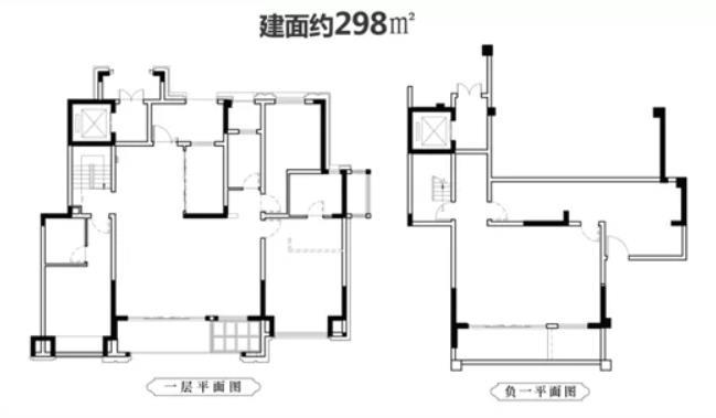 298m²户型