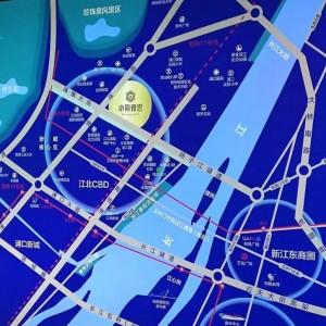 帝景观云位于江北中央商务区内_生活圈配套繁华!