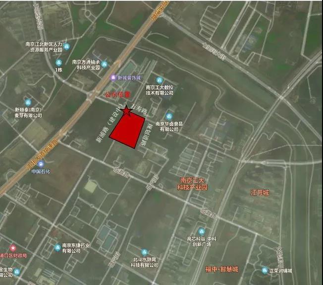 江北核心区,两大地块案名,江北核心区两大地块案名
