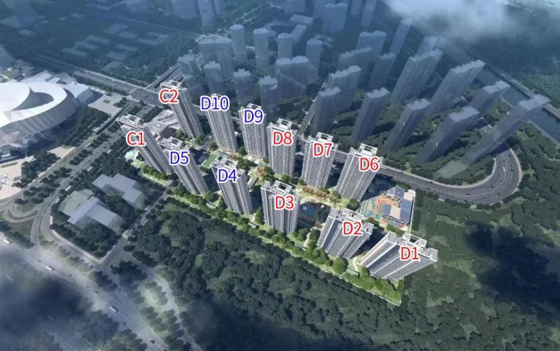 江北核心区新盘,启迪水木滨江,佳源玖棠府