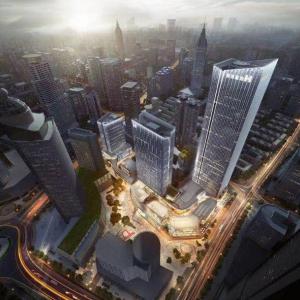 新街口金陵中環营销中心将于5月15日正式公开