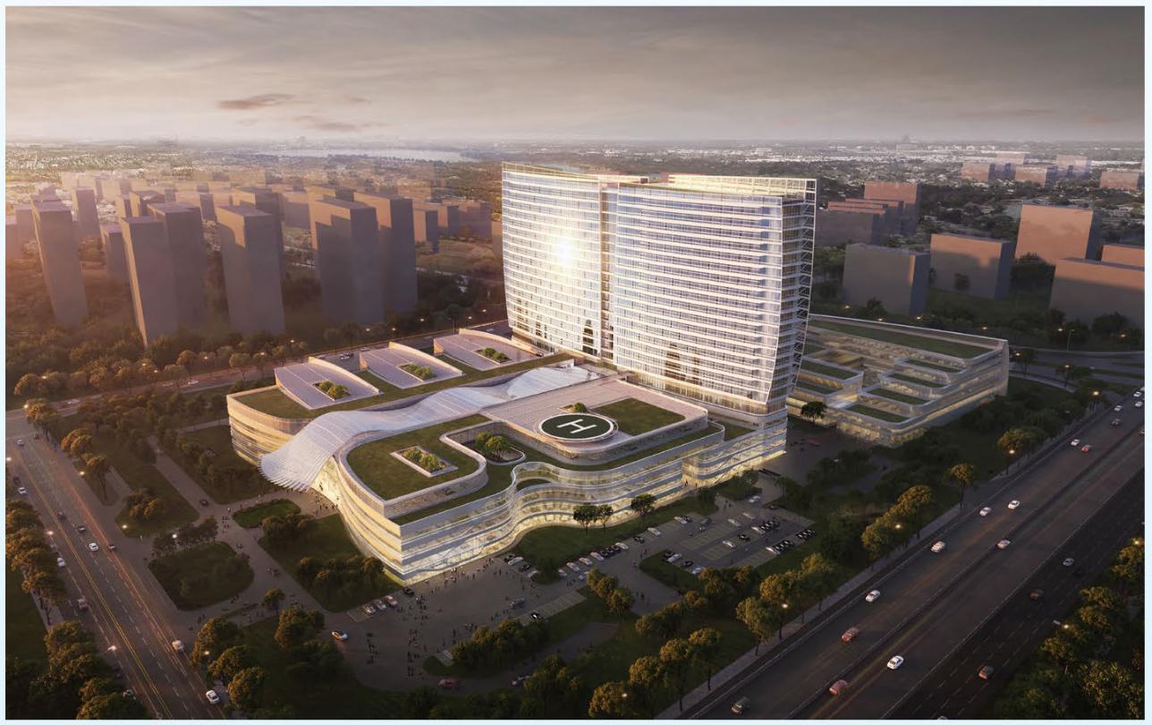 雨核江苏省妇幼保健院总部项目规划设计方案批前公示